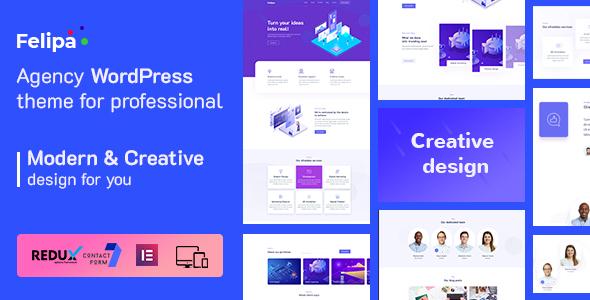 Felipa - Agency WordPress Theme