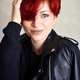 Portrait of a beautiful young red-haired woman with short hair l - PhotoDune Item for Sale