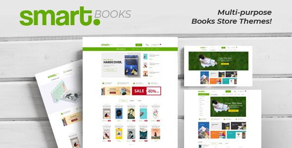 Smartbook - Book Store Responsive Prestashop Theme