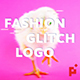 Dynamic Fashion // Glitch Logo Opener - VideoHive Item for Sale