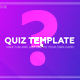 Quiz / Trivia Template - VideoHive Item for Sale