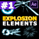 Explosion Elements Pack | After Effects Template - VideoHive Item for Sale