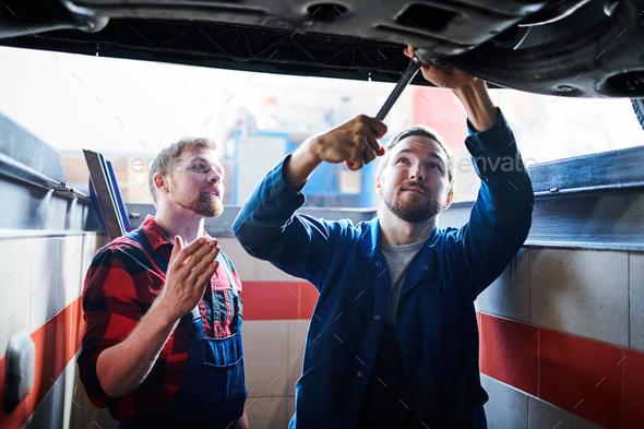 Teaching trainee - Stock Photo - Images
