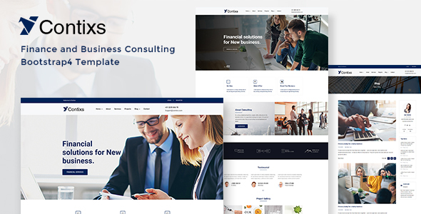Contixs - Business Consulting HTML Template