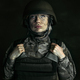 Portrait of young female soldier - PhotoDune Item for Sale