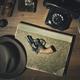 Noir 1950s style detective desktop with revolver - PhotoDune Item for Sale