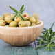Green olives with rosemary - PhotoDune Item for Sale