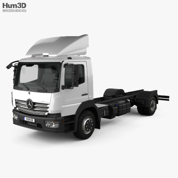 Mercedes-Benz Atego (1530) M-Cab Chassis Truck 2013