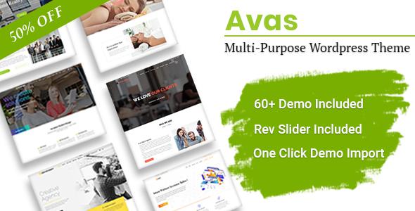 Avas   Multi-Purpose Elementor WordPress Theme