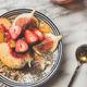 Healthy breakfast bowl with yogurt, fruits and honey - PhotoDune Item for Sale