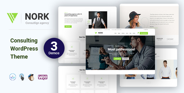 Nork - Business, Consulting WordPress Theme