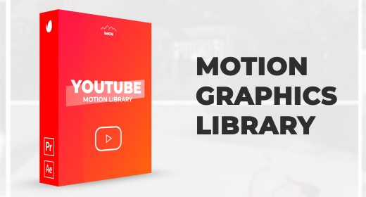 Motion Graphics Library | After Effects, Premiere Pro, FCPX
