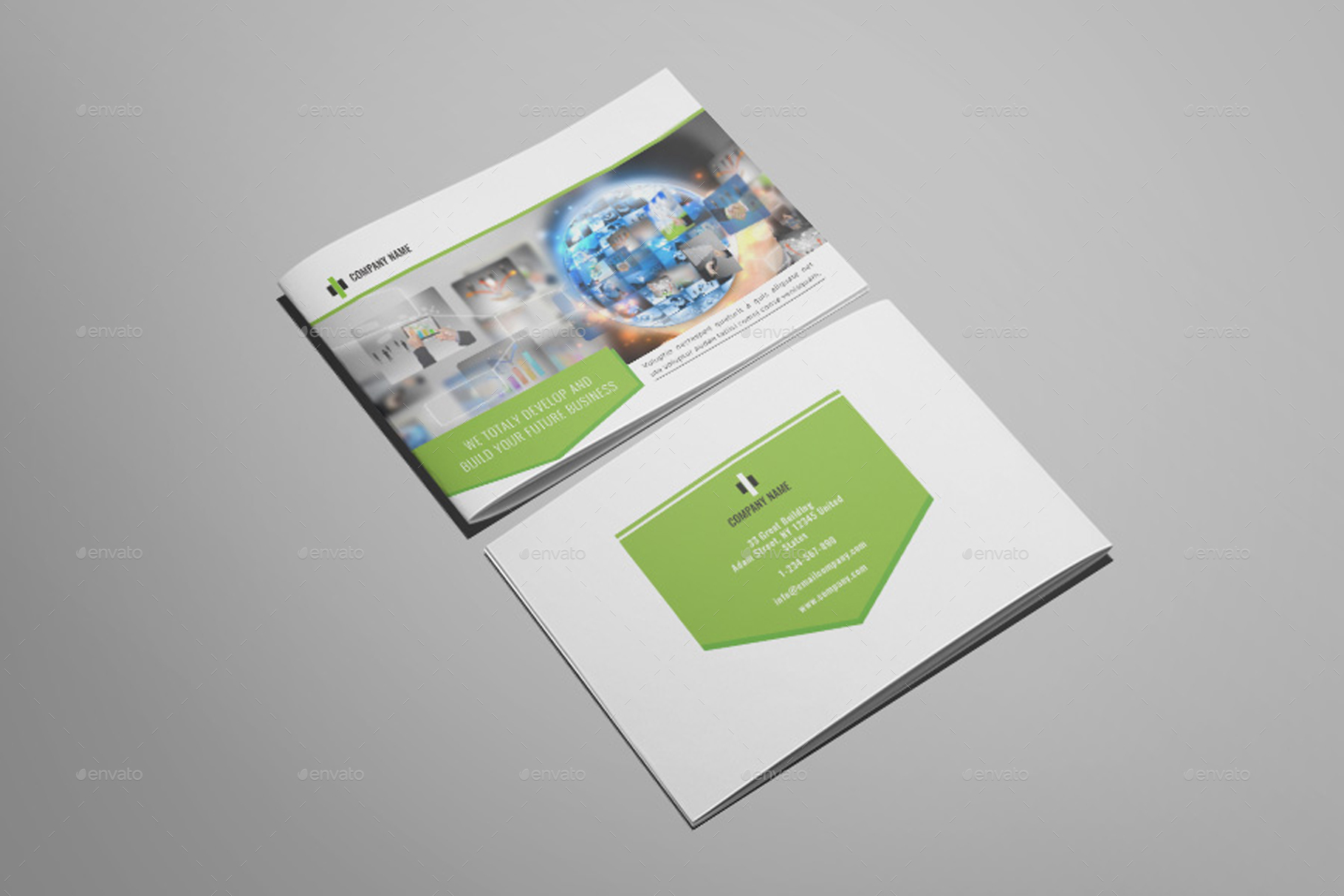 Wonderpro - A5 Business Brochure Template
