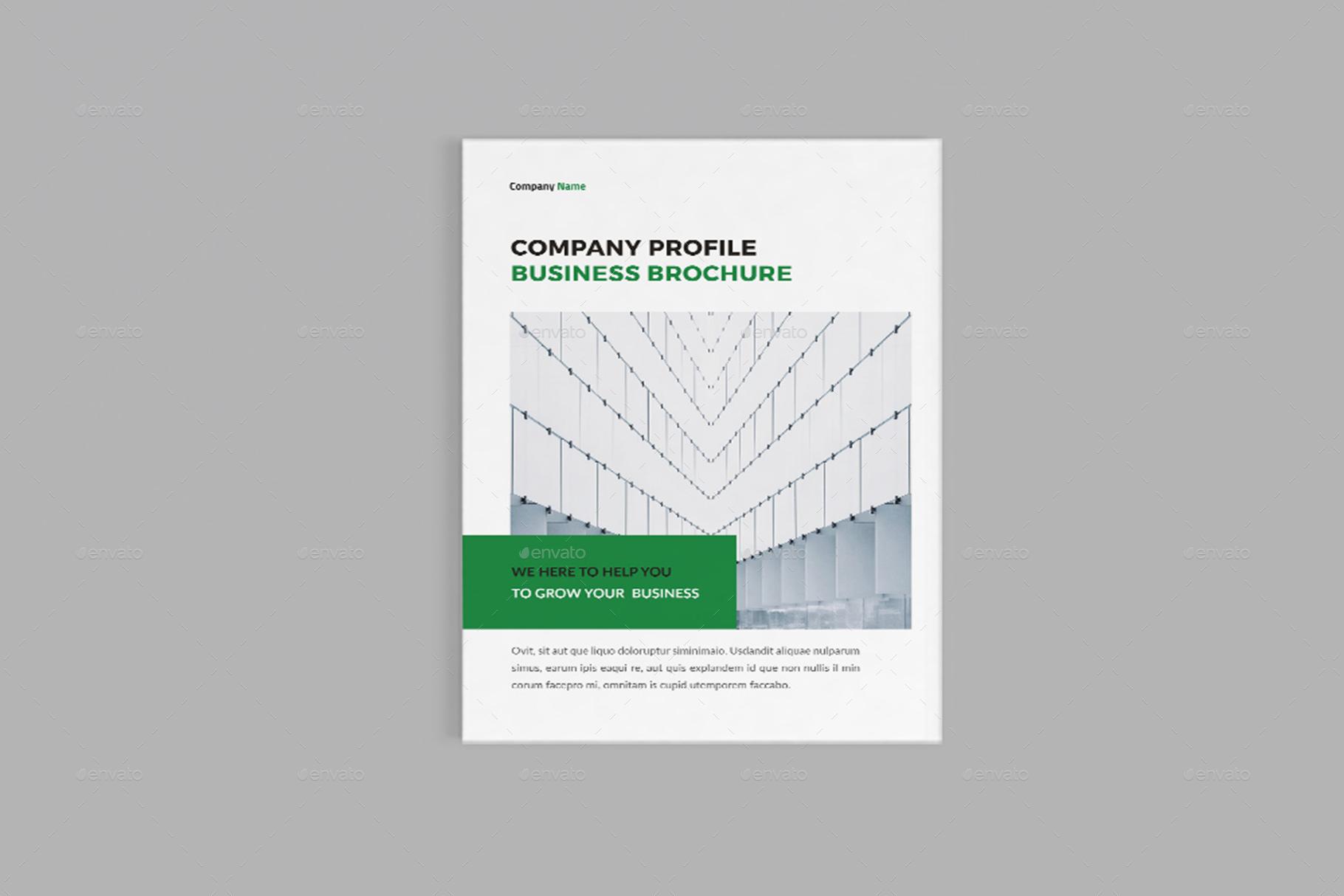 Corpora - A4 Company Profile Brochure Template
