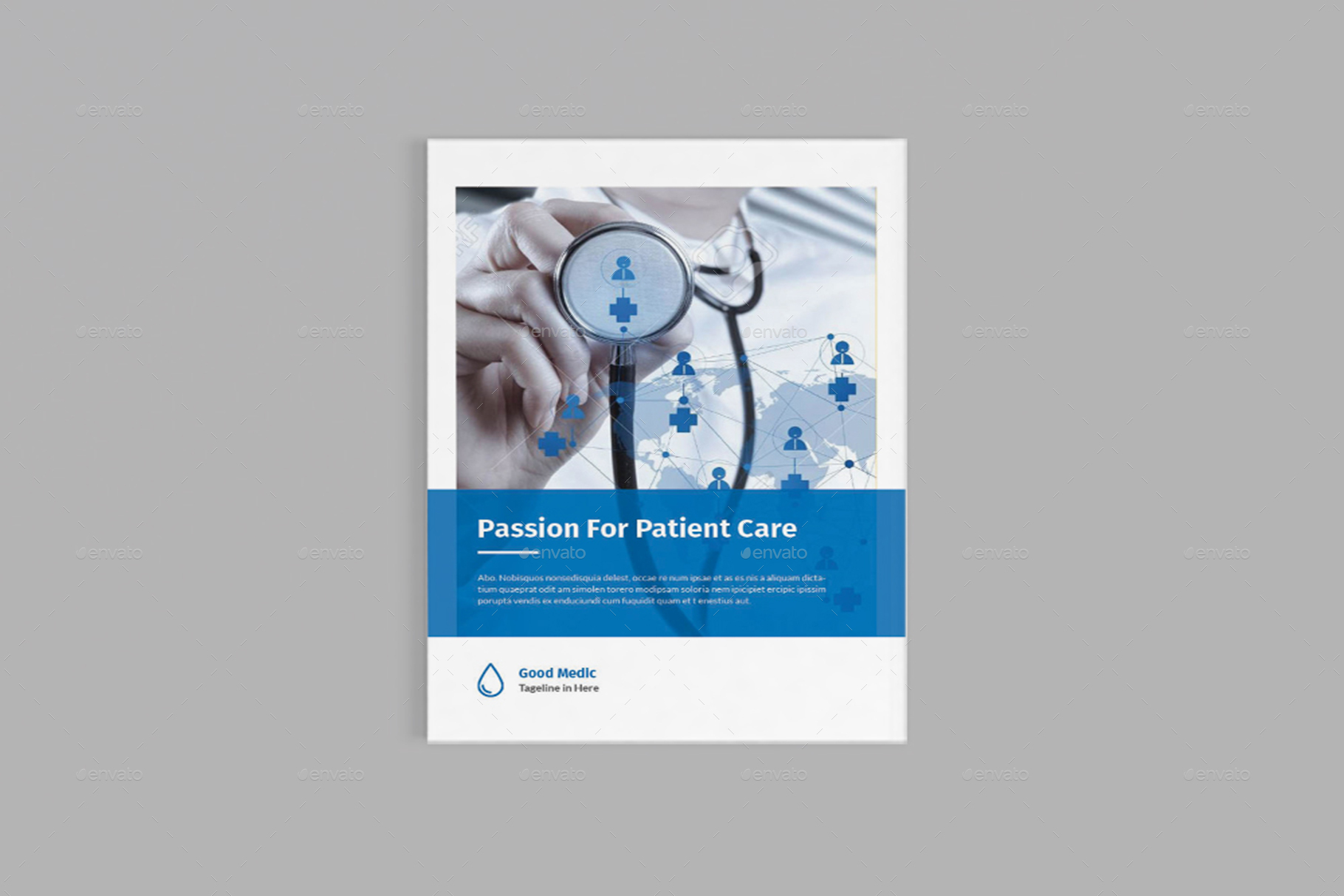Medicore - A4 Medical Brochure Template