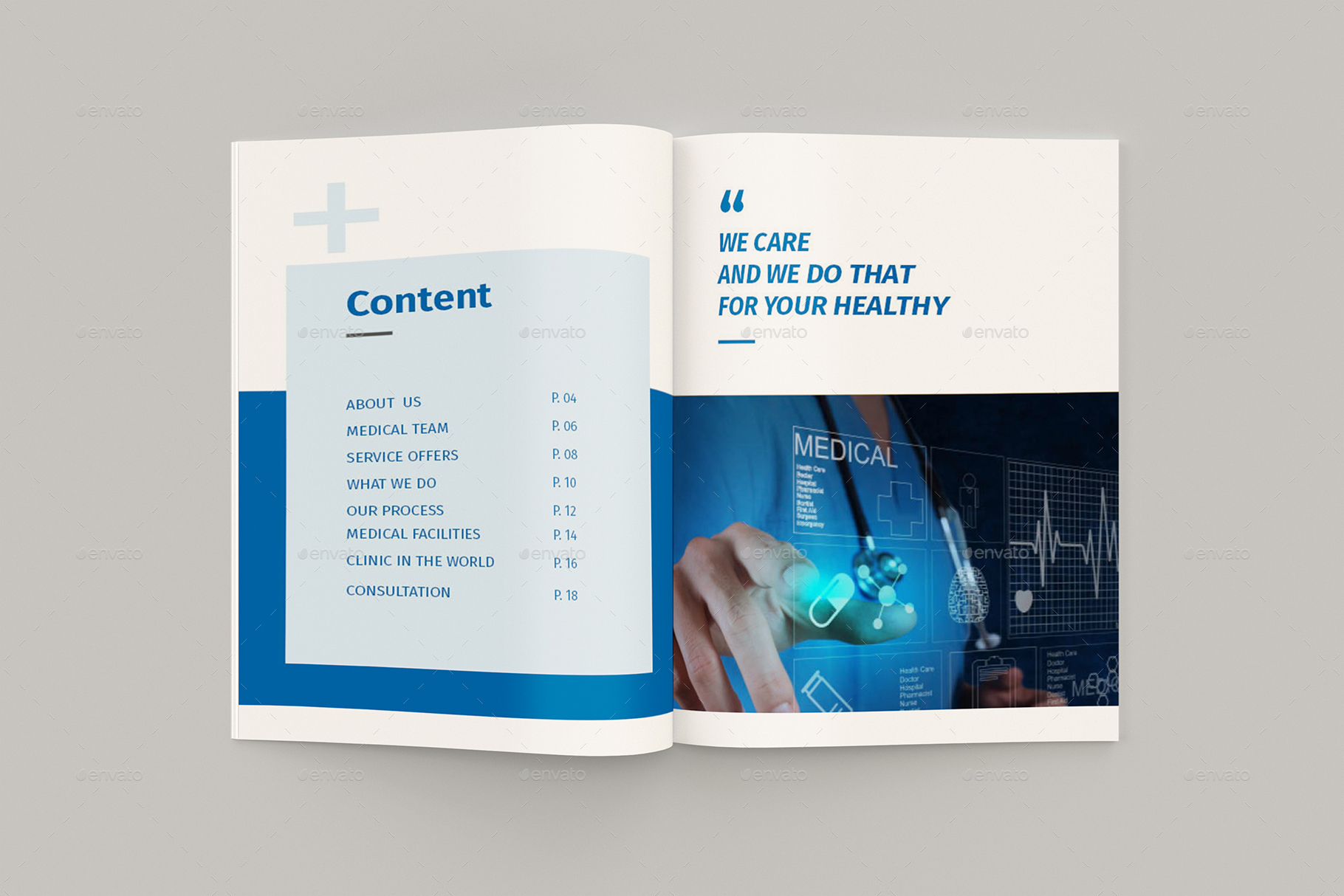 Medicore - A4 Medical Brochure Template