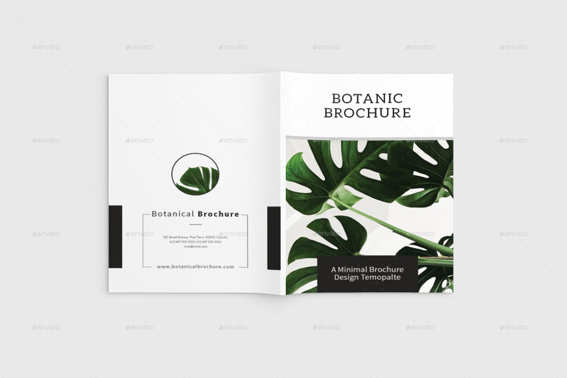 Botanics - A4 Botanical Brochure Template