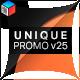 Unique Promo v25 | Corporate Presentation - VideoHive Item for Sale