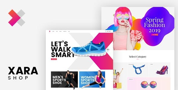Xara - Responsive WooCommerce Shop Theme