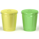 Metal trash cans with different colors - PhotoDune Item for Sale