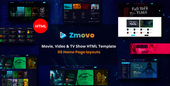 Film & TV Bootstrap 4 Templates | Bootstrap4