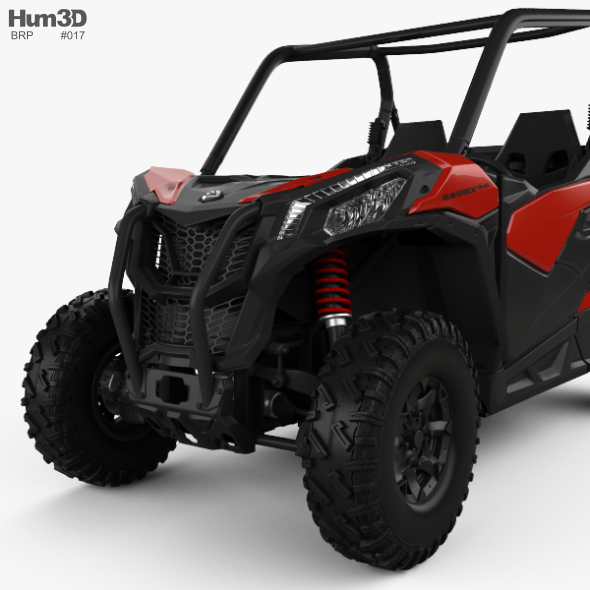 Brp Can Am >> Brp Can Am Maverick Trail 2018 By Humster3d 3docean