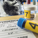 Police records along with some forensic murder tests in criminalistico laboratory, conceptual image - PhotoDune Item for Sale