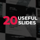 20 Useful Typography Slides - VideoHive Item for Sale
