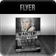 Wanted - Theme Party Flyer - GraphicRiver Item for Sale