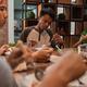 muslim family break fasting together - PhotoDune Item for Sale