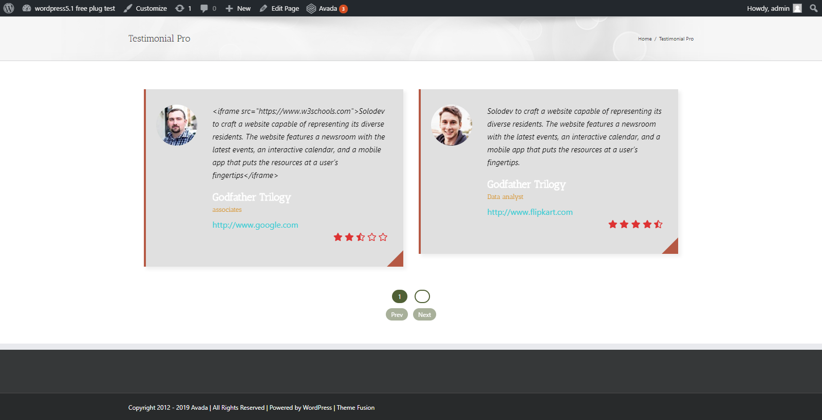 Testimonials Pro - WordPress Testimonials and Reviews