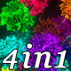 Rainbow Blossom (4in1) - VideoHive Item for Sale