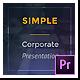 Simple Corporate Presentation – Premiere Pro - VideoHive Item for Sale