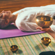 Sound meditation. Tibetan singing bowl - PhotoDune Item for Sale