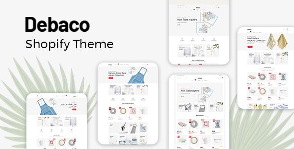 Debaco - Shopify Theme