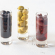 Assortment of three species of olives in glasses - PhotoDune Item for Sale