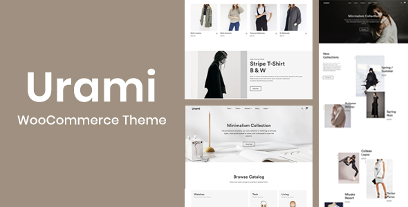 Download Urami WP – Modern minimalist WooCommerce theme Free Nulled