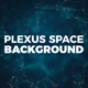 Plexus Space Tunnel Background - VideoHive Item for Sale