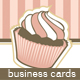 Sweet Treats Business Cards - GraphicRiver Item for Sale