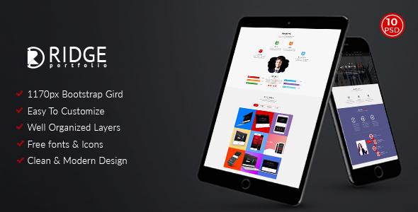Ridge – Corporate and Personal Portfolio Template
