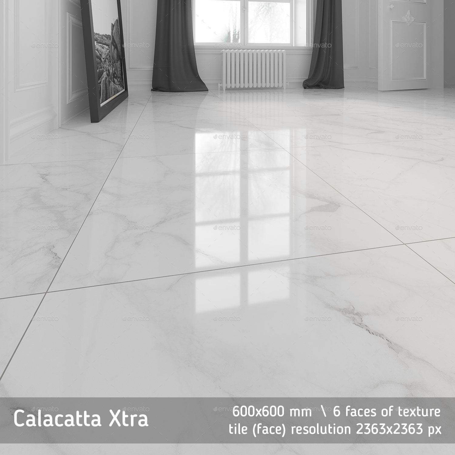 Calacatta Marble Floor Tile By Golden