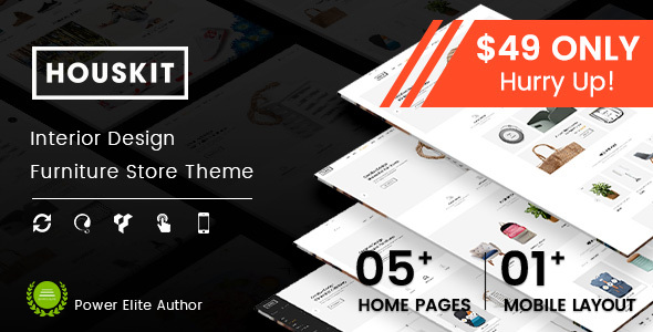 Houskit - Interior Design & Furniture Store WordPress Theme