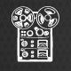 DJ Glitch Scratch Logo