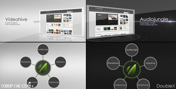 Corporate Website Presentation 3in1