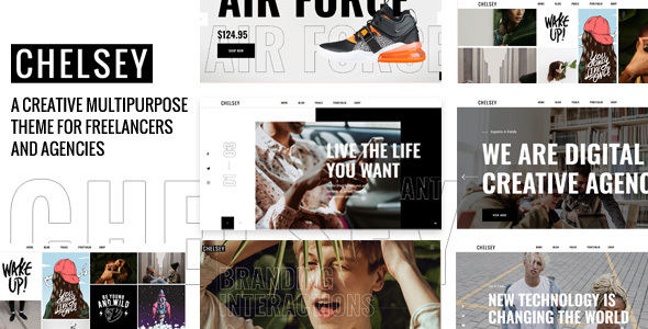 Download Chelsey – Portfolio Theme for Freelancers and Agencies Free Nulled