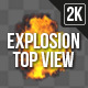 Explosion Top View - VideoHive Item for Sale