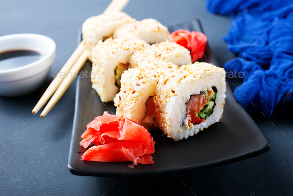 sushi - Stock Photo - Images