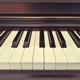 Calm Beautiful Ambient Old Piano
