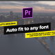 Essential Titles & Lower Thirds // Auto Resizing Boxes // MOGRT - VideoHive Item for Sale