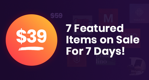 7 WordPress Themes on sale - 7 days only!